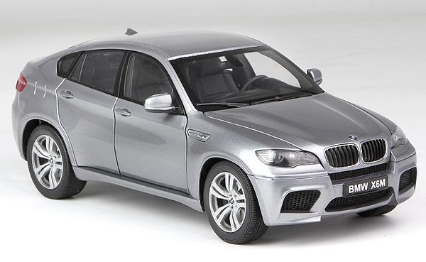 โมเดลรถ โมเดลรถเหล็ก โมเดลรถยนต์ BMW X6M grey 1