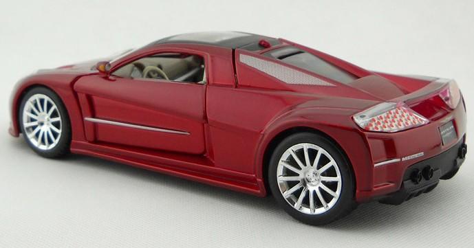 โมเดลรถ โมเดลรถยนต์ โมเดลรถเหล็ก Chrysler M3 แดง 2