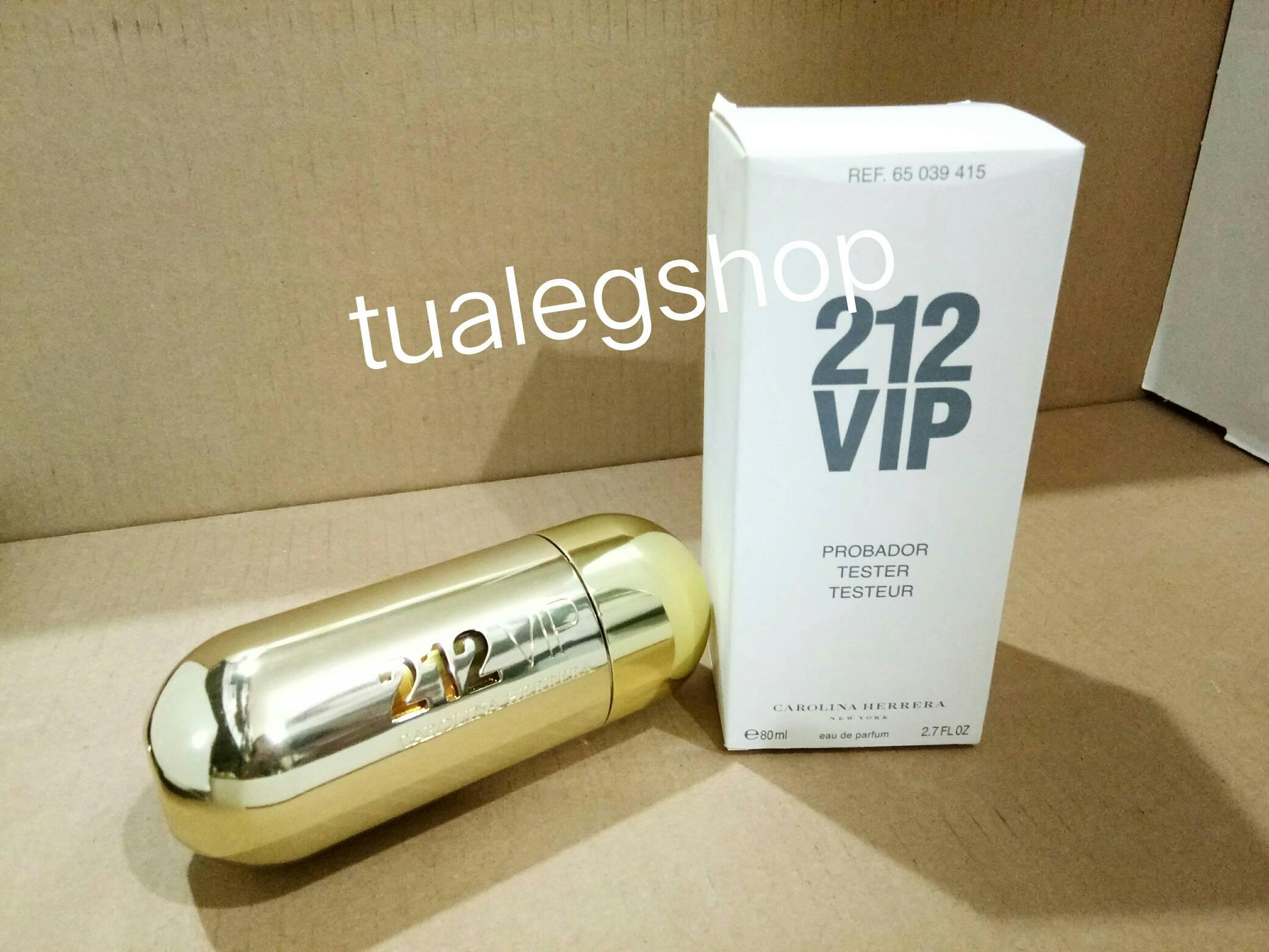 Carolina Herrera 212 VIP for Women EDP 80ml.(tester box)