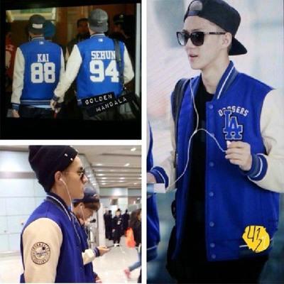 Preorder เสื้อฮู๊ดดี้แบรนด์ LA EXO
