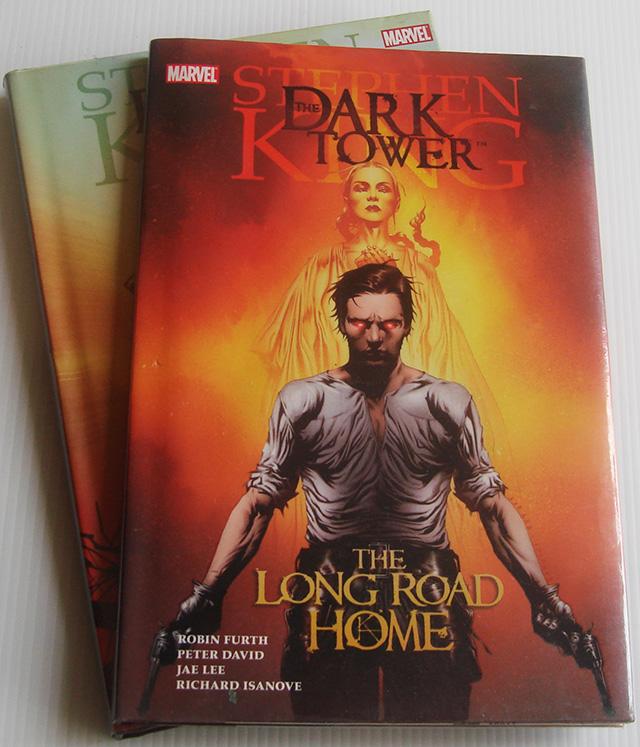 นิยายภาพภาษาอังกฤษ The Dark Tower ตอน The Gunslinger Born และ The Long Road Home / Stephen King