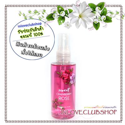 Bath & Body Works / Travel Size Fragrance Mist 88 ml. (Sweet Cranberry Rose)