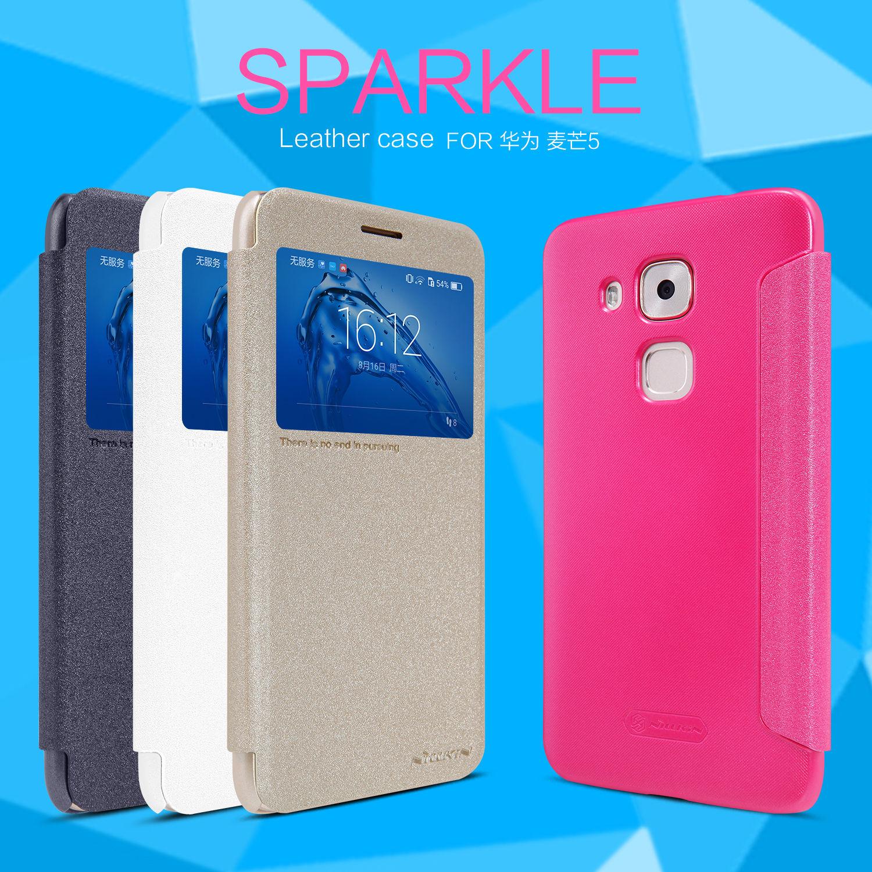 NILLKIN เคส Huawei Novo Plus Sparkle Leather Case NILLKIN แท้ !!