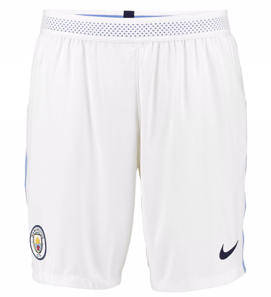 กางเกงแมนเชสเตอร์ ซิตี้ 2017 2018 ทีมเหย้า เวอร์ชั่นนักเตะของแท้ Manchester City Home Vapor Match Shorts 2017-18