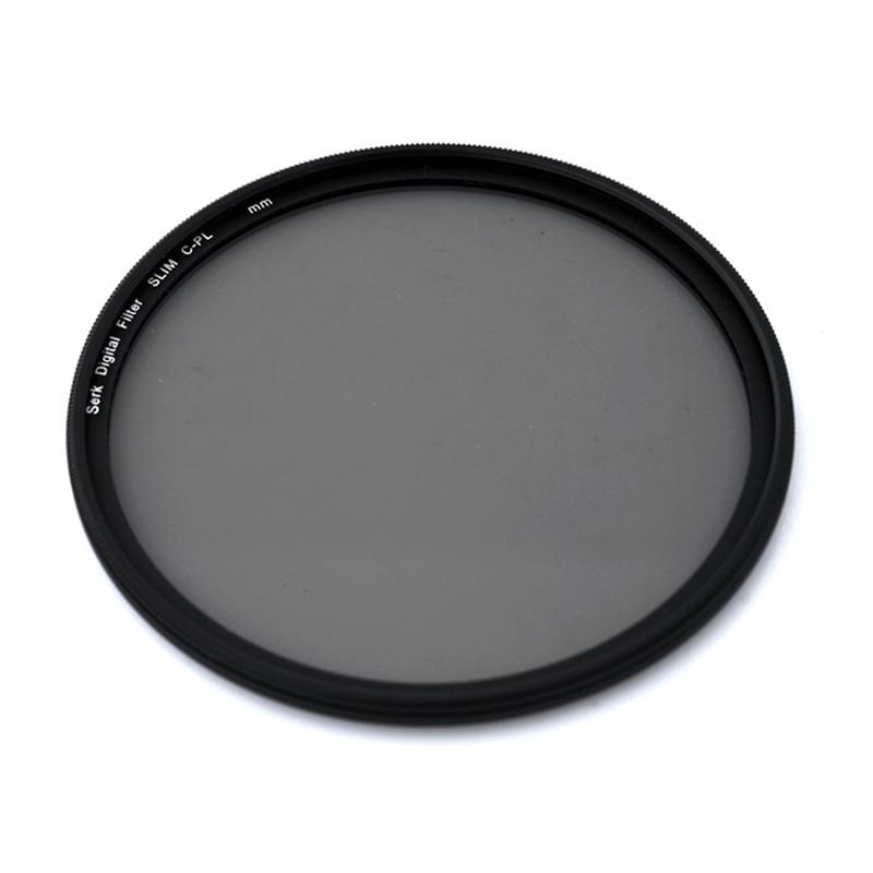 SERK Extreme Slim CPL Circular Polarizing Filter ขอบบาง ขนาด 37 40.5 46 49 52 55 58 62 67 72 77 mm.