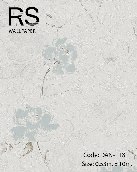 วอลเปเปอร์ลายดอกไม้วินเทจ DAN-F18