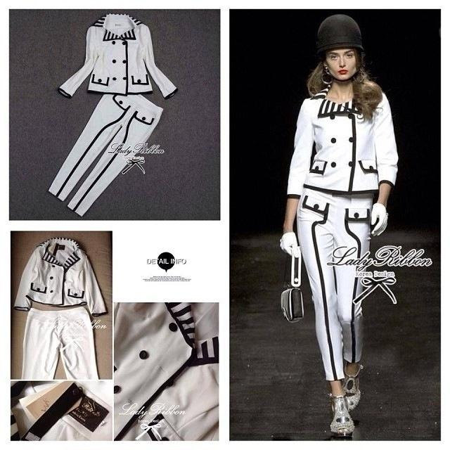 Lady Ribbon's Made Lady Mademoiselle Black&White Set, CHANEL RTW Collection 2013