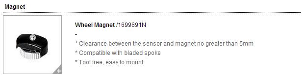 CATEYE : Wheel Magnet /1699691N