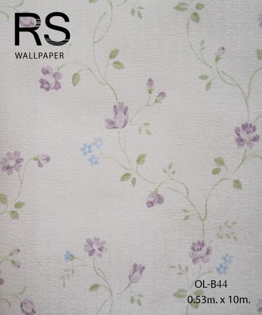 วอลเปเปอร์ลายดอกไม้ OL-B44