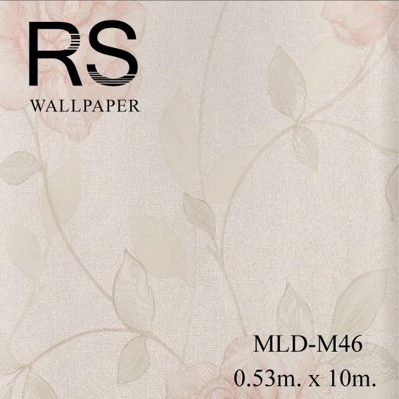 วอลเปเปอร์ลายดอกไม้ MLD-M46