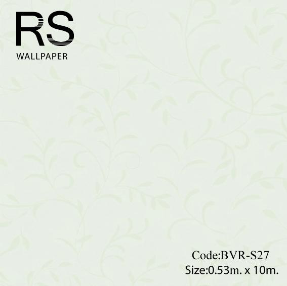 วอลเปเปอร์ลายใบไม้ BVR-S27