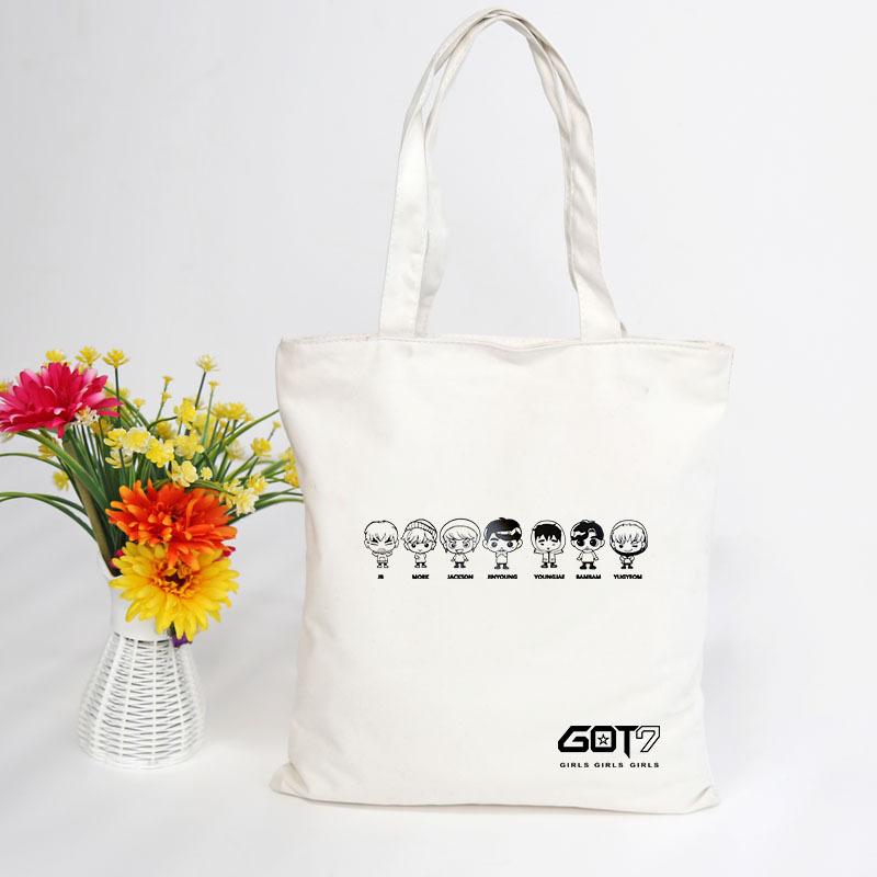 กระเป๋าผ้าสะพายข้าง - GOT7