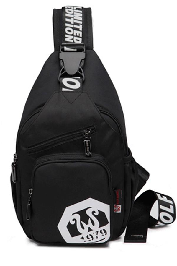พร้อมส่ง!!! WOLF HORSE กระเป๋าสะพายไหล่ รุ่น K50 ( สีดำ )