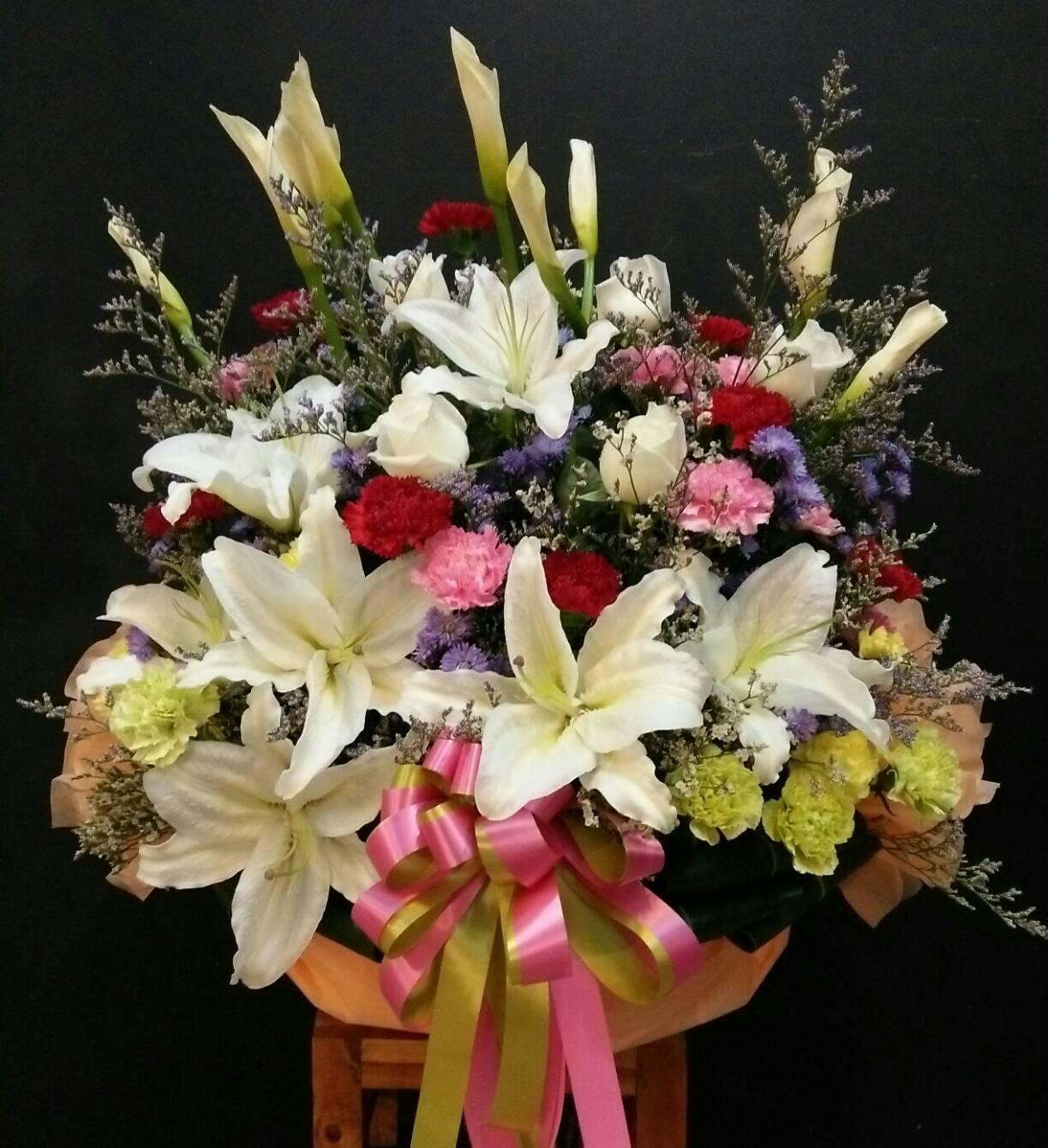 กระเช้าดอกไม้15