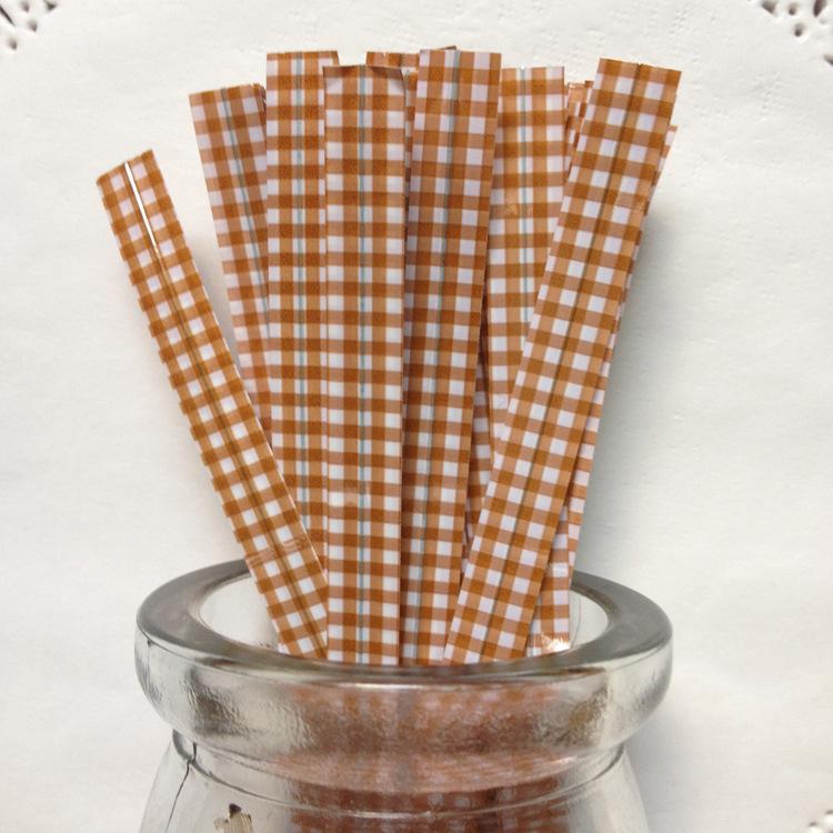 ลวดมัดปากถุง สีน้ำตาล 500 ชิ้น/ห่อ (ยาว 12 ซม.)