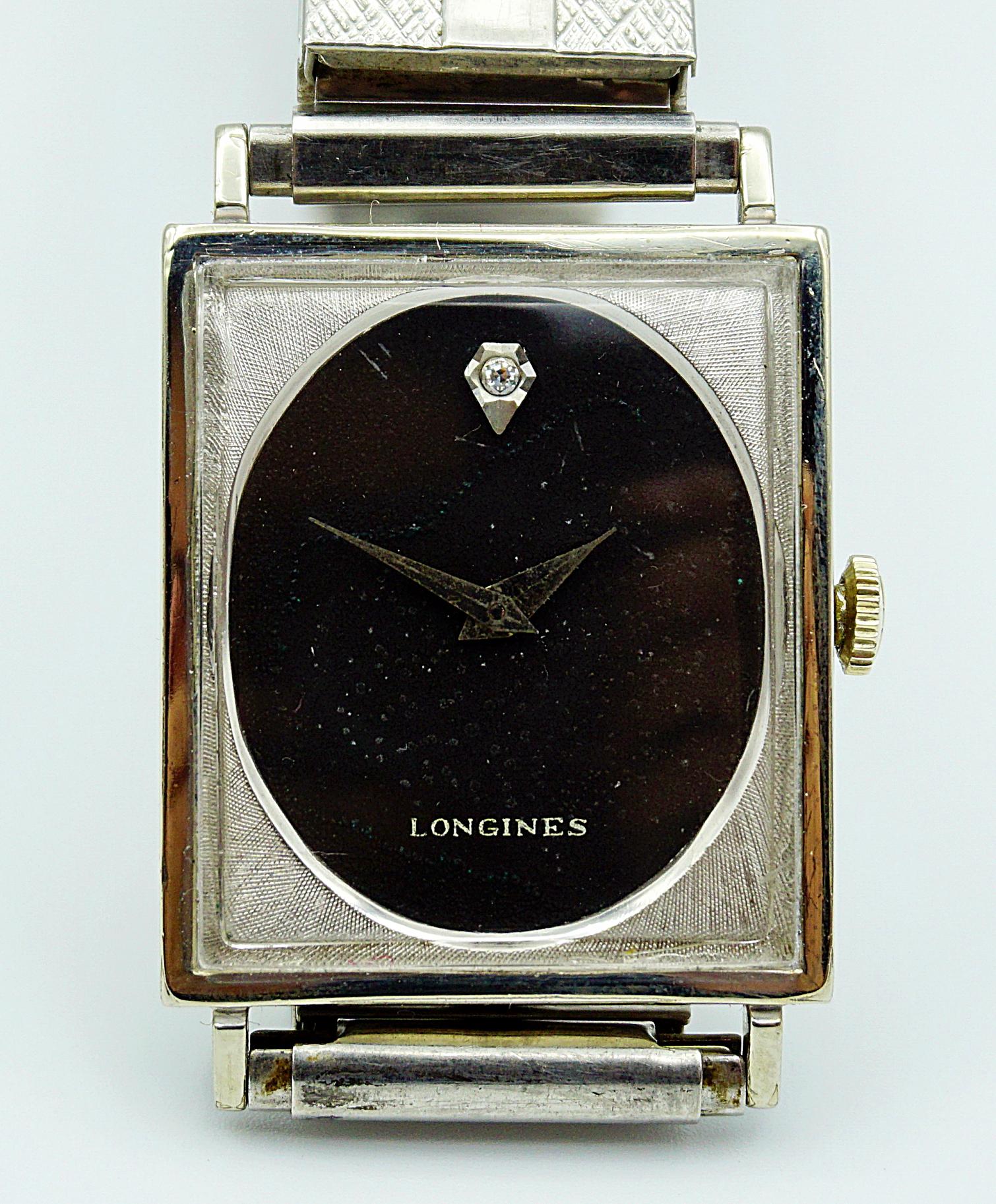 นาฬิกาเก่า LONGINES ไขลาน