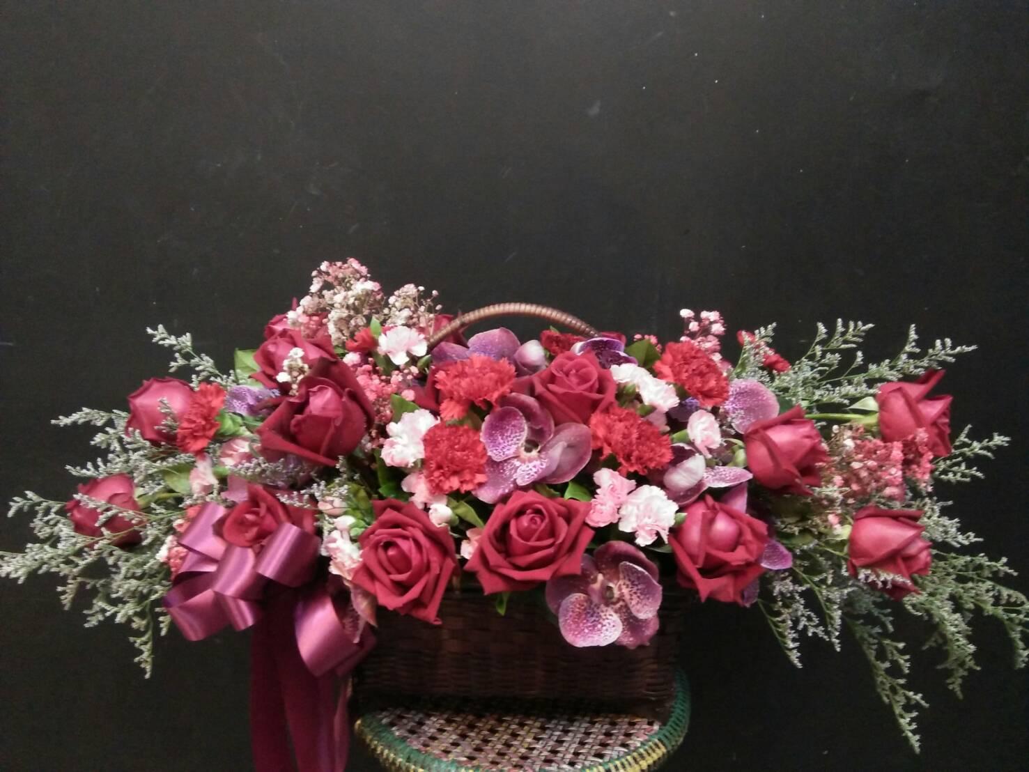 กระเช้าดอกไม้ 02