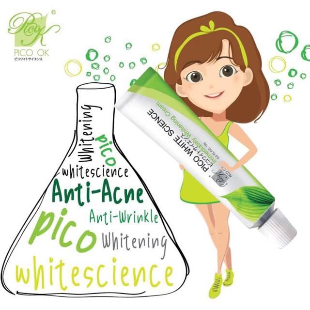 ครีม Pico White Science