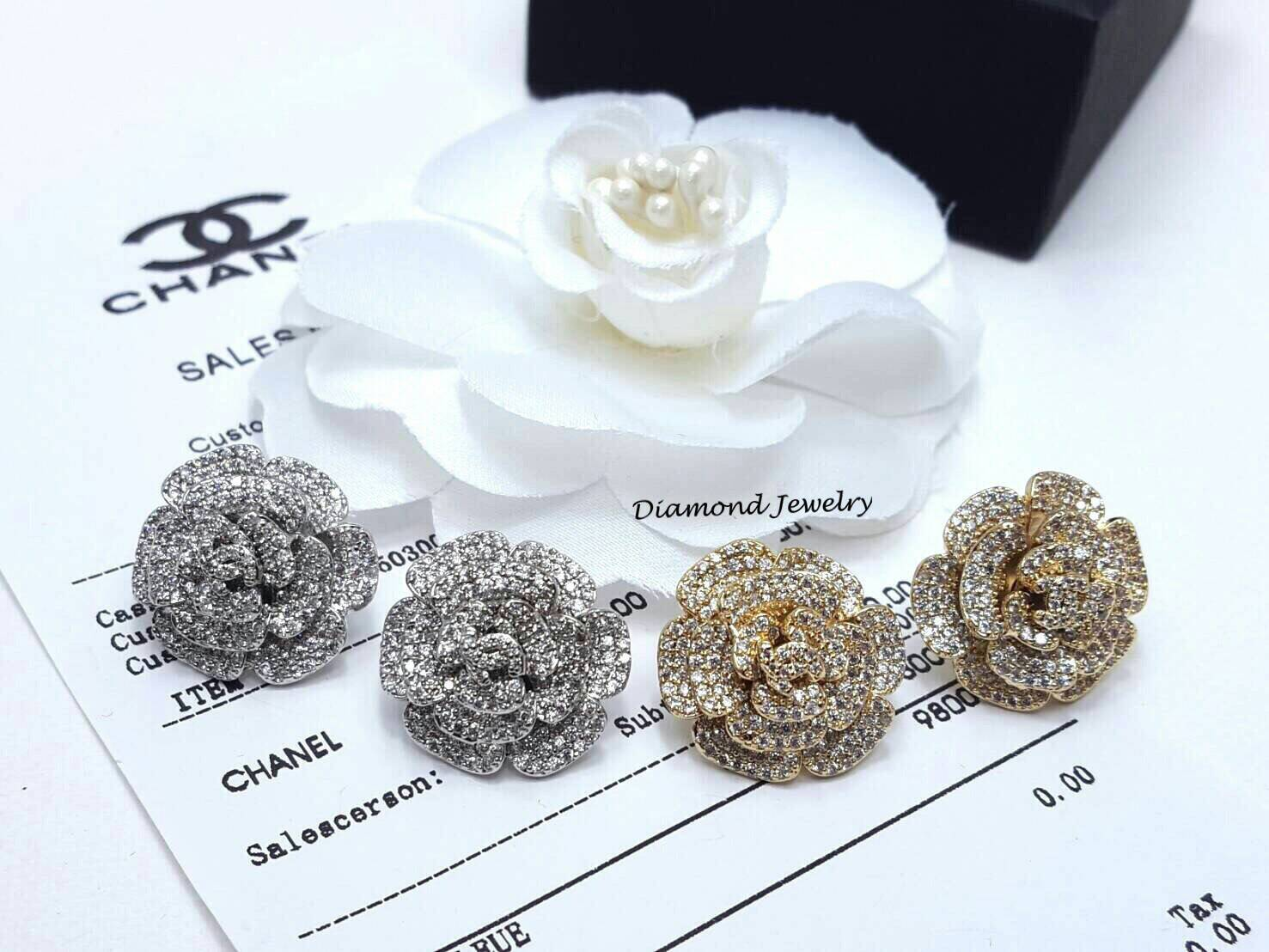 พร้อมส่ง ที่สุดของ Chanel Earring จัดเลย คู่เดียวจบเ