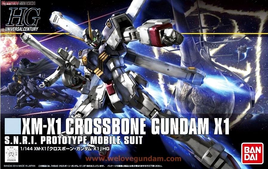 HGUC 1/144 CROSS BONE GUNDAM X1