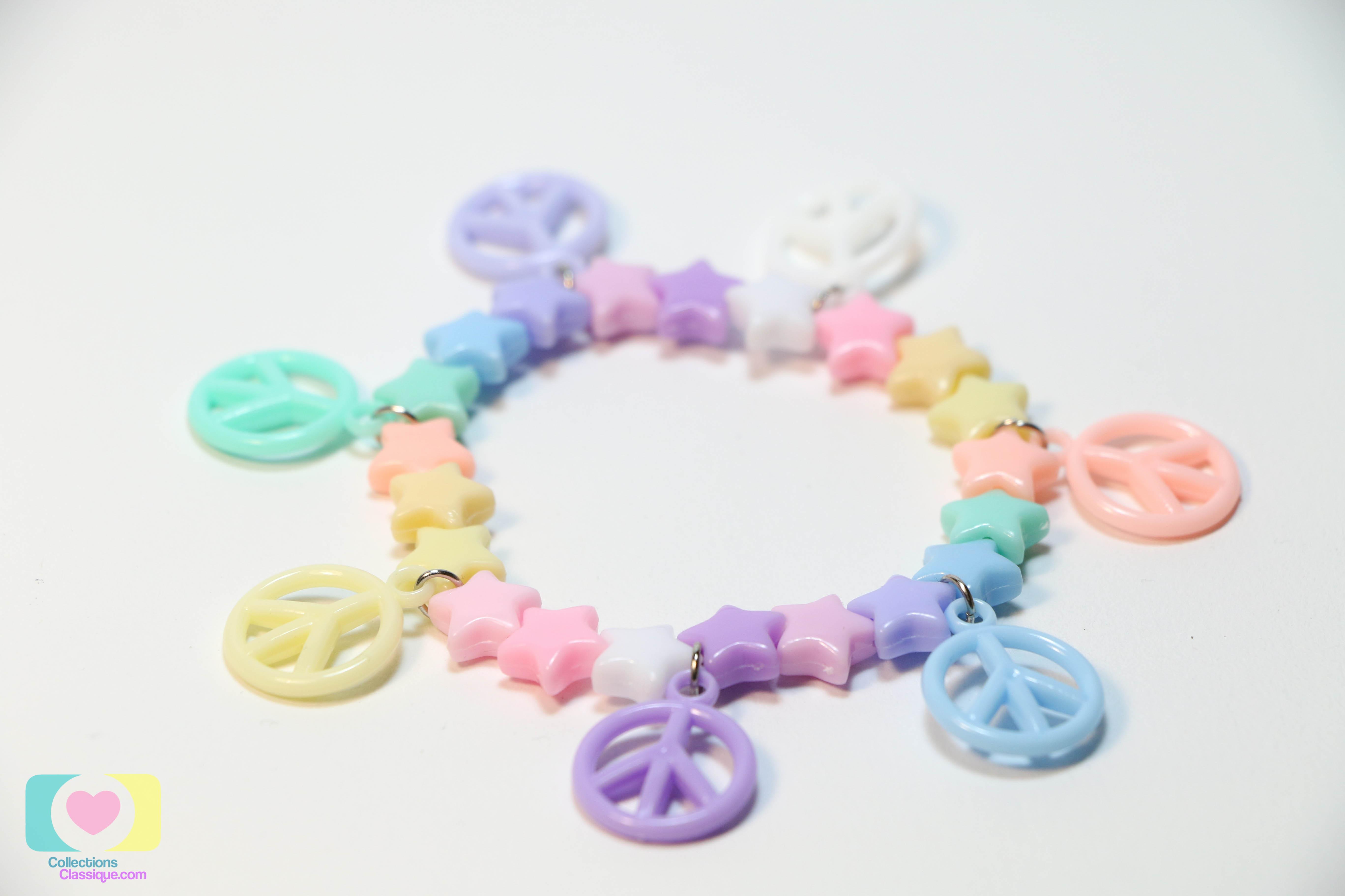 กำไลข้อมือ Pastel Handmade Bracelet BL25029