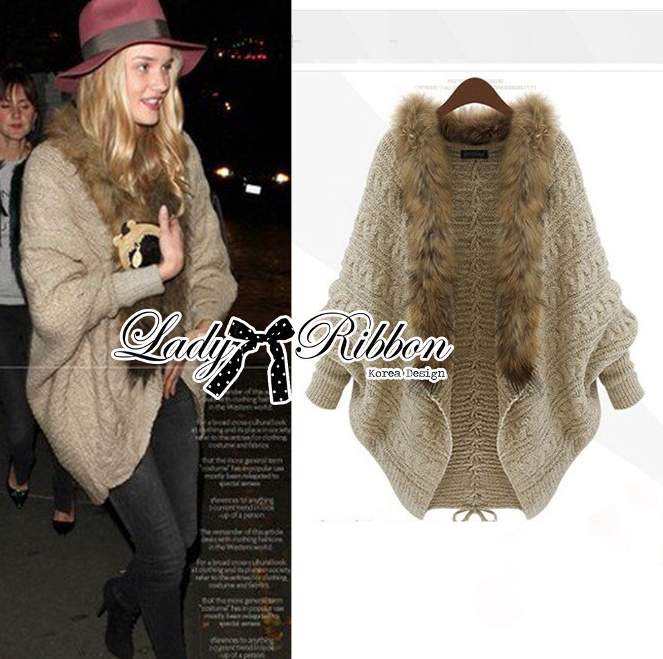 Margaret Fall-Winter Knit Outerwear and Faux Fur