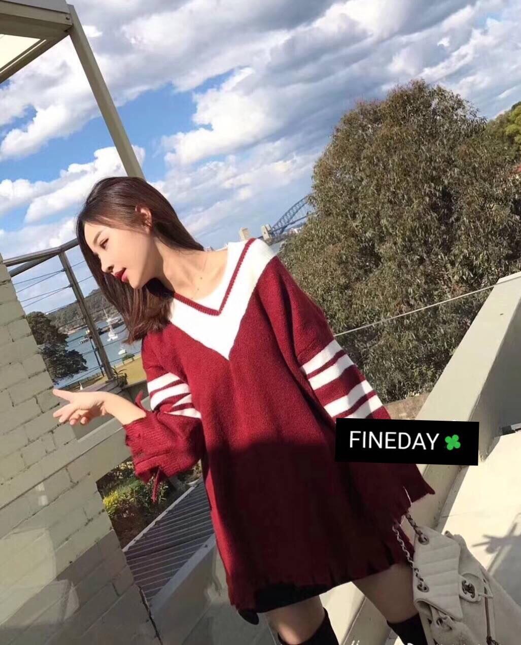 เสื้อผ้าแฟชั่นเกาหลีพร้อมส่ง ใหม่ ใหญ่จุใจ สาวๆใส่เป็นเดรสได้เลยน้าา