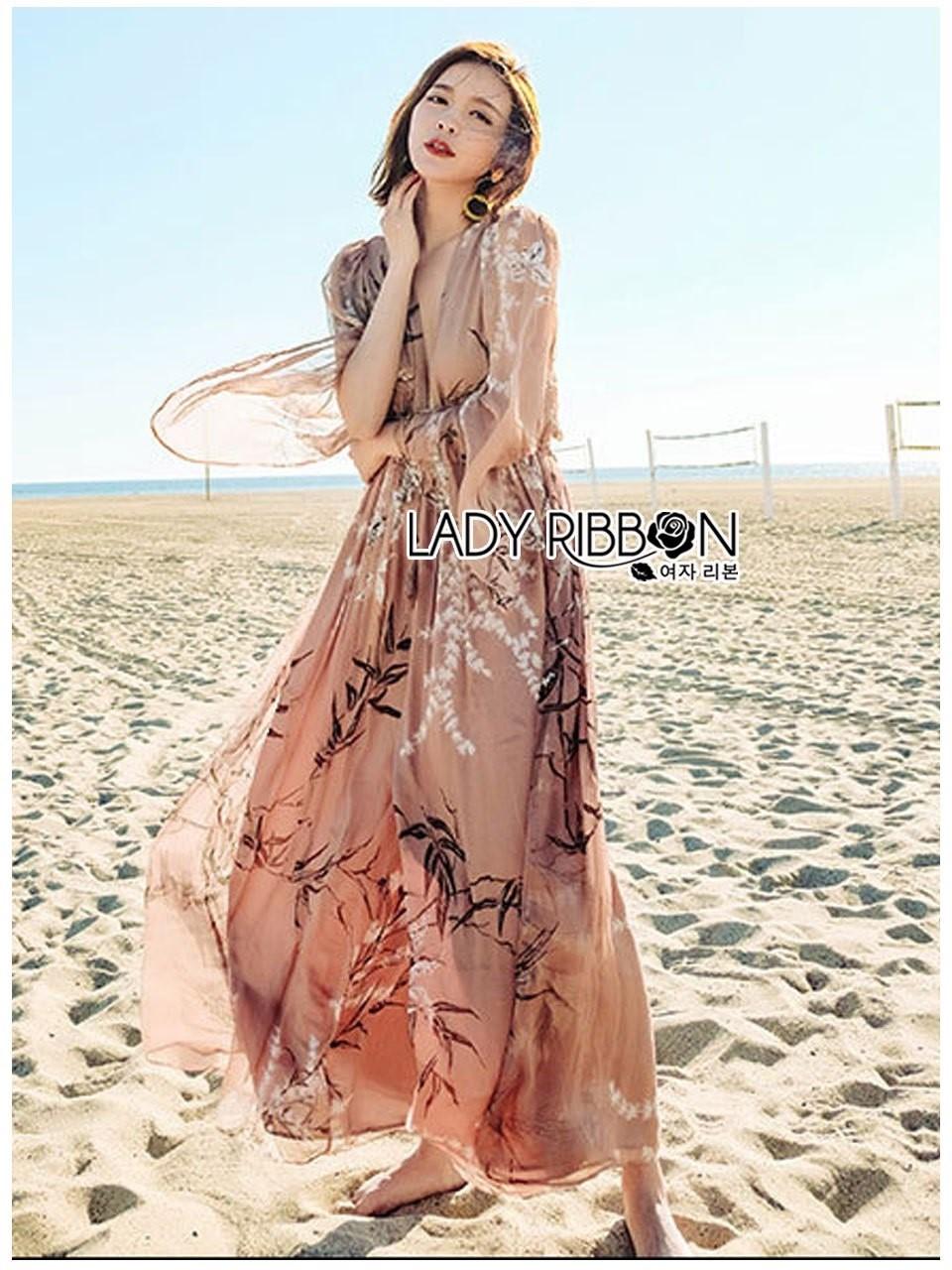 Ana Summer Style Printed Chiffon Jumpsuit