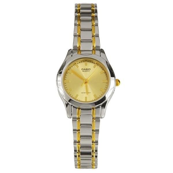 นาฬิกา ข้อมือผู้หญิง casio ของแท้ LTP-1275SG-9ADF CASIO นาฬิกา ราคาถูก ไม่เกิน สองพัน