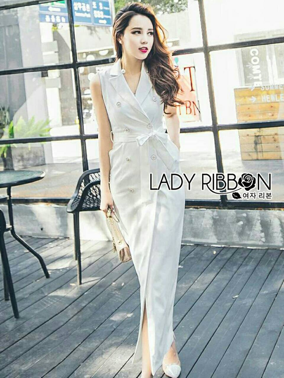 Carry Smart Casual Double-breasted Suit Dress