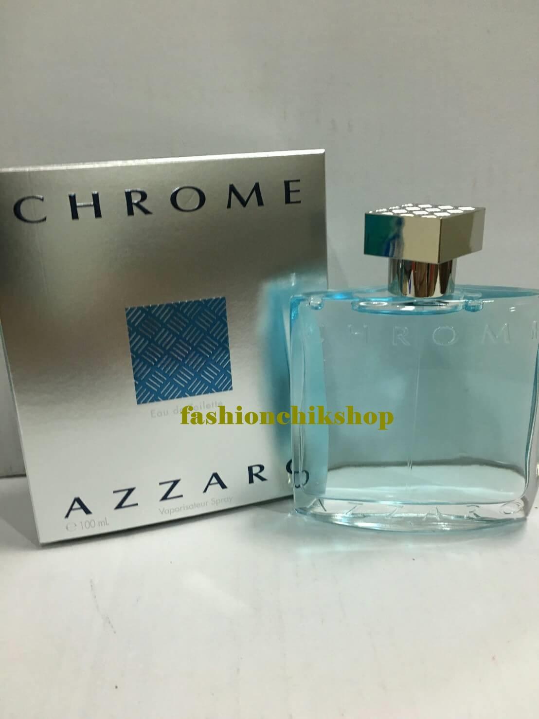 พร้อมส่ง Chrome azzaro edt 100ml