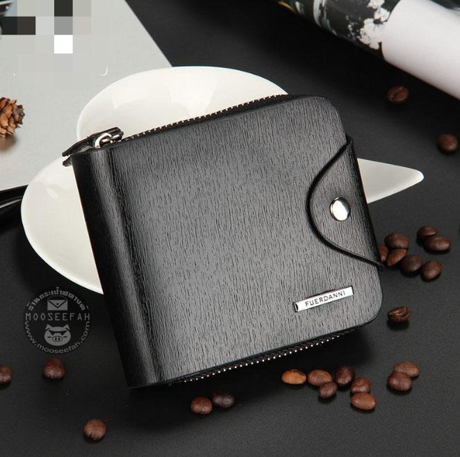 กระเป๋าสตางค์ผู้ชาย FD-001 [สีดำ]