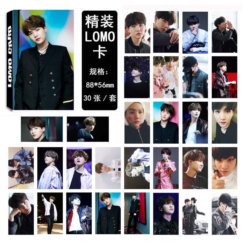 LOMO CARD BTS SUGA 05