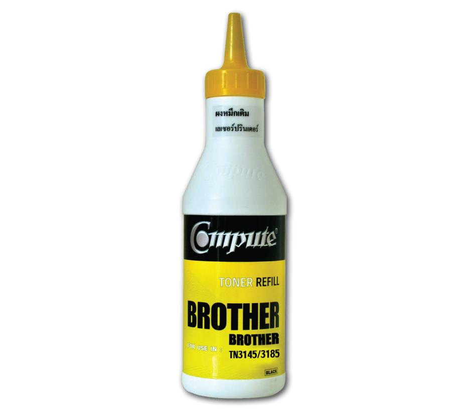 ผงหมึกเติม BROTHER TN-3145,3185,3135,550 คอมพิวท์ (Refill Toner)