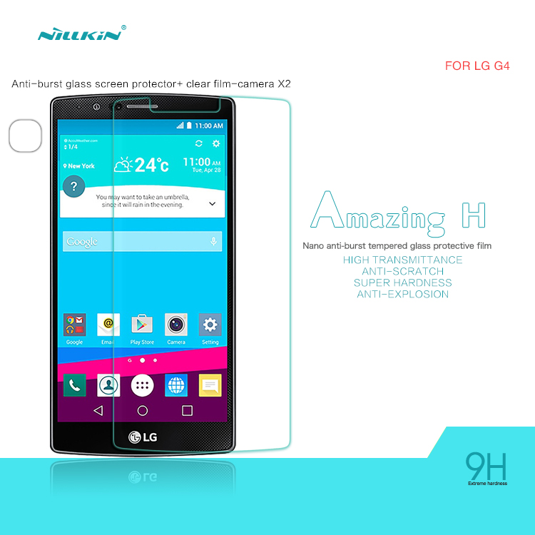 กระจกนิรภัย LG G4 ของ NILLKIN Amazing H Nanometer Anti-Explosion Tempered Glass Screen Protector