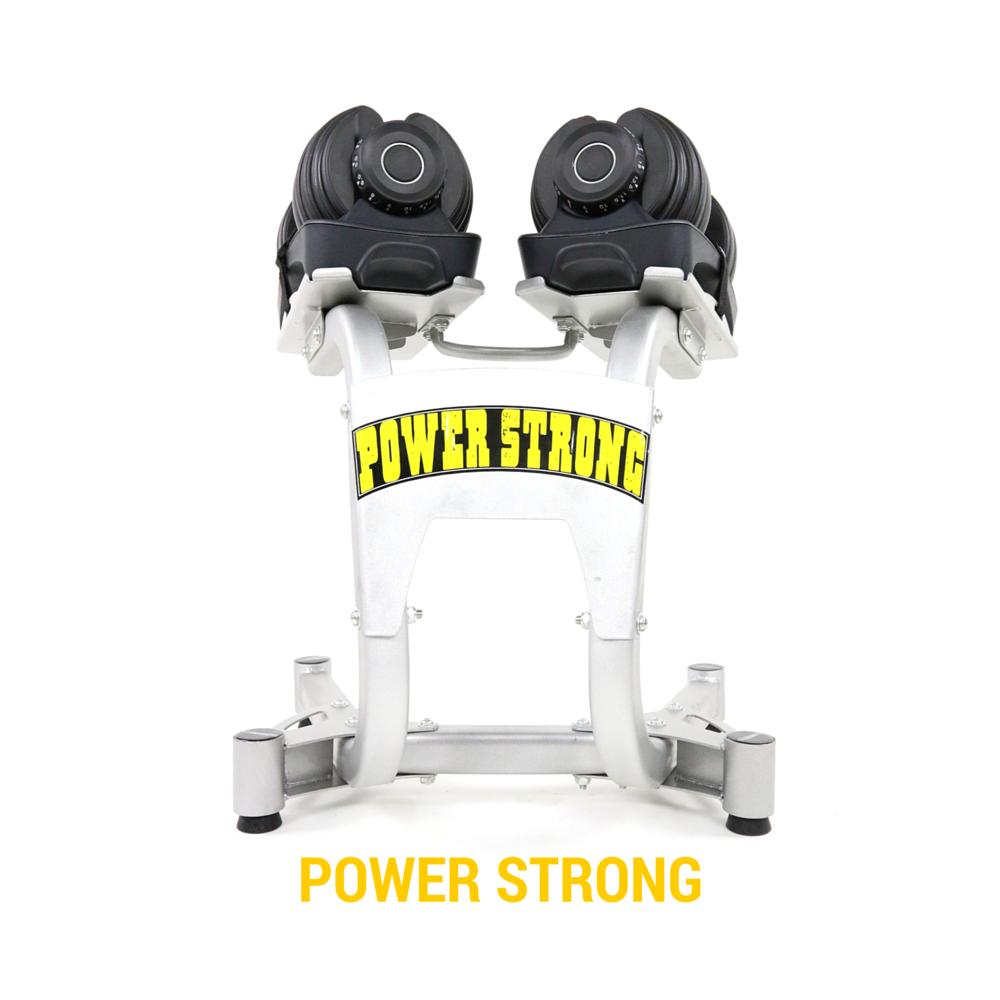 Lazada Dumbbell Set: POWER STRONG ดัมเบลปรับน้ำหนักได้ 24 Kg ADJUSTABLE