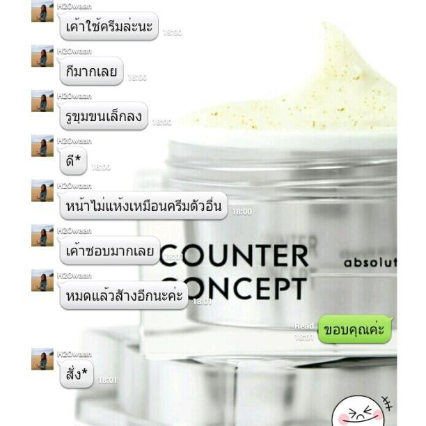 ลูกค้าพึงพอใจ Counter Concept