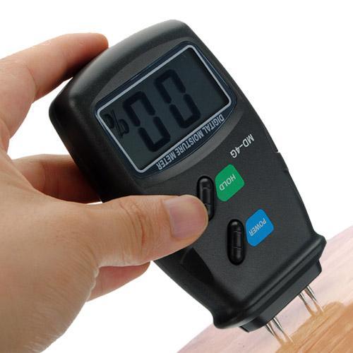 เครื่องวัดความชื้นในเนื้อไม้ (Wood Moisture Humidity Meter) รุ่น MD-4G ย่านการวัด 5% - 40%