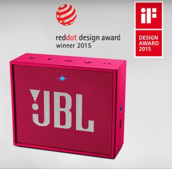 ลำโพงพกพา JBL GO เล็กกระทัดรัด ได้ใจความจริงๆ คุณภาพเสียงที่คุ้มค่า เกินราคา!!! (PINK)