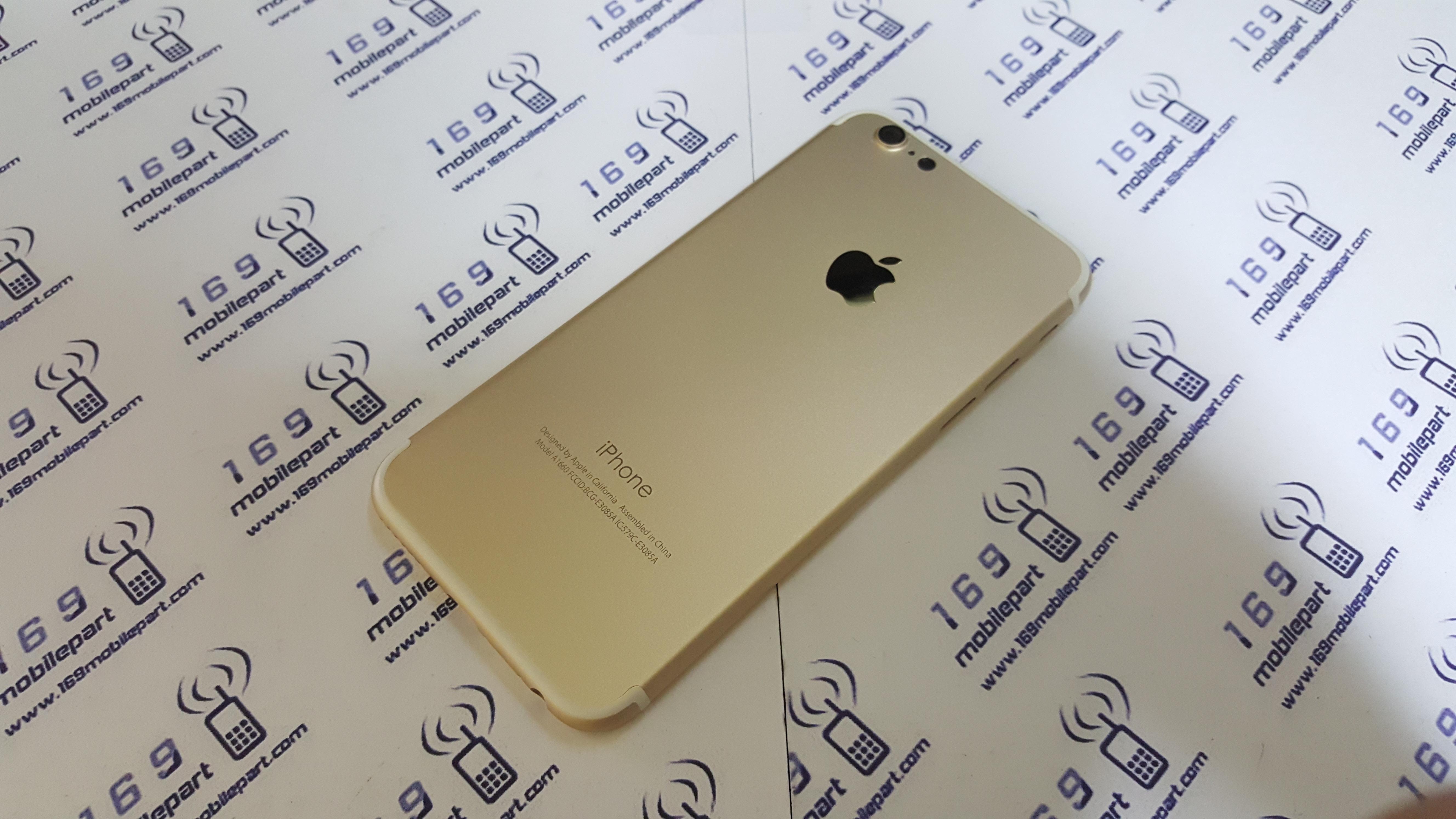 บอดี้ iPhone 6 แปลง i7 สี ทอง