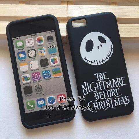 เคสประกบลาย The Nightmare รุ่นไอโฟน 5c