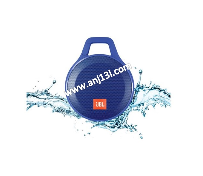 JBL Clip+ Splashproof Speaker ultra-light, ultra-rugged and ultra-powerful (Blue!!)