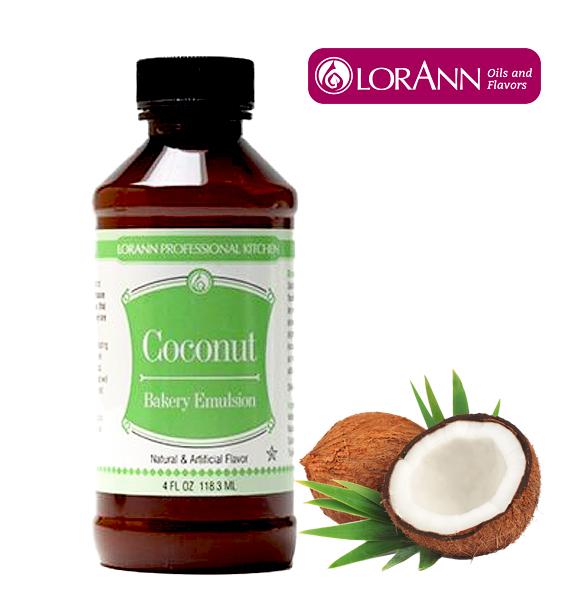 LorAnn Coconut Bakery Emulsion 4 Oz.