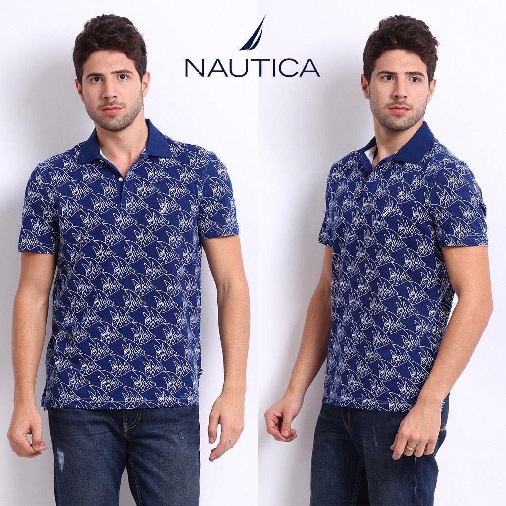 Nautica Printed Polo