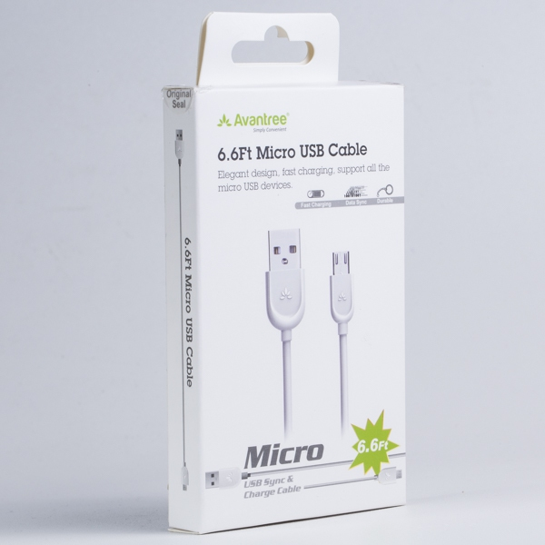 Avantree Micro USB Cable (2M) XB1 PS4