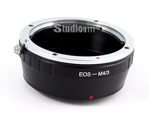 อแดปเตอร์แปลงท้ายเลนส์ CANON EOS ใช้กับกล้อง M4/3 (OLYMPUS, PANASONIC)