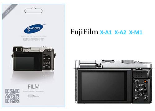 ฟิล์มกันรอยจอ LCD สำหรับ FUJI X-A1 X-A2 X-M1