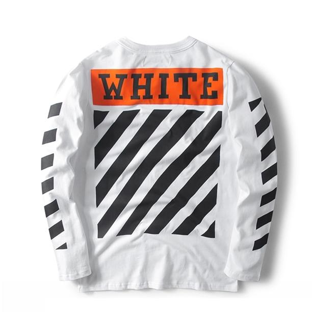 Off-White Orange Label Sweater White/Black