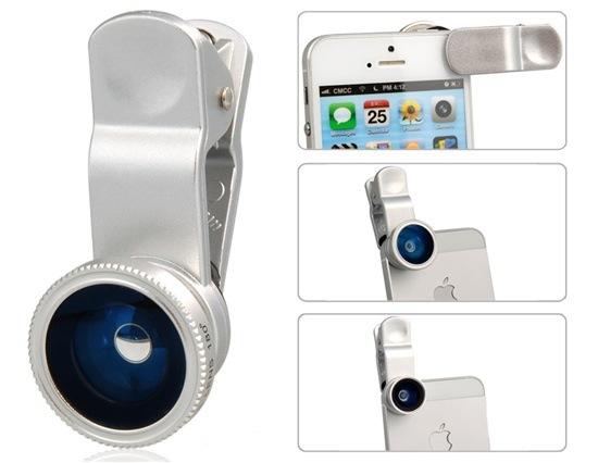 สุดยอดเลนส์ติดกล้องมือถือ แบบ 3 in 1