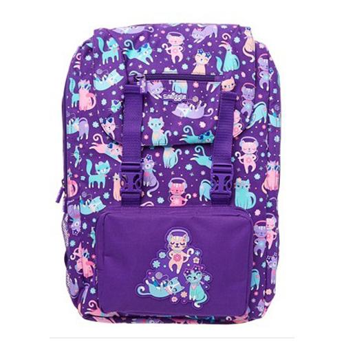 SMB025 กระเป๋าเป้ สมิกเกิ้ล พร้อมส่ง Smiggle Snap Foldover Backpack